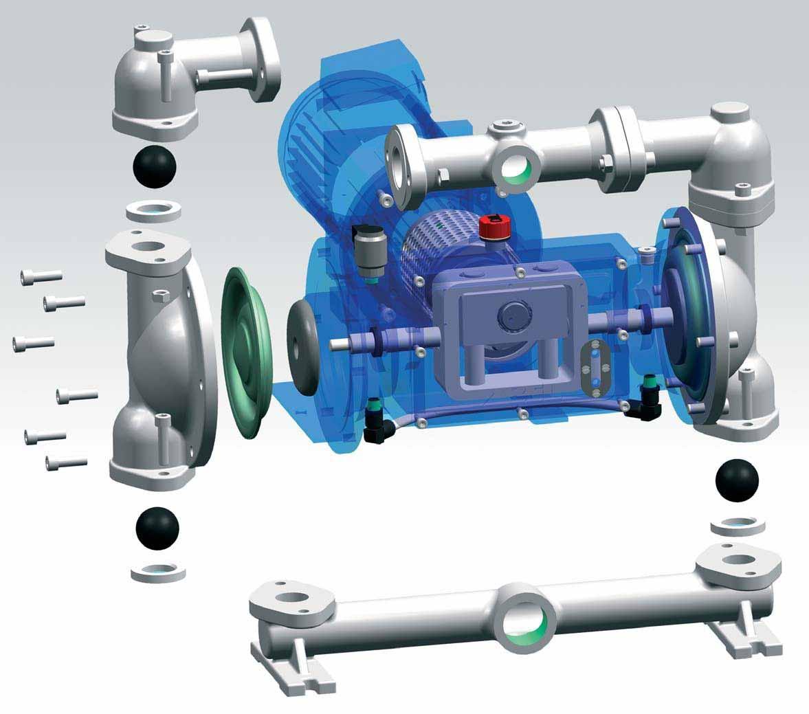 ■电动 隔膜泵图片