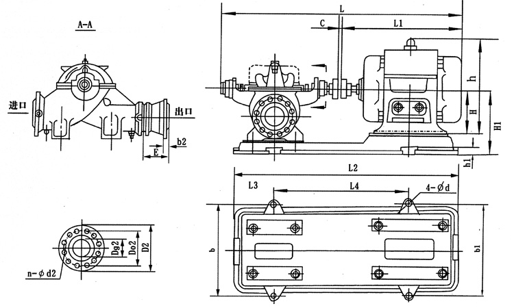 三相电机自动上水控制器电路图