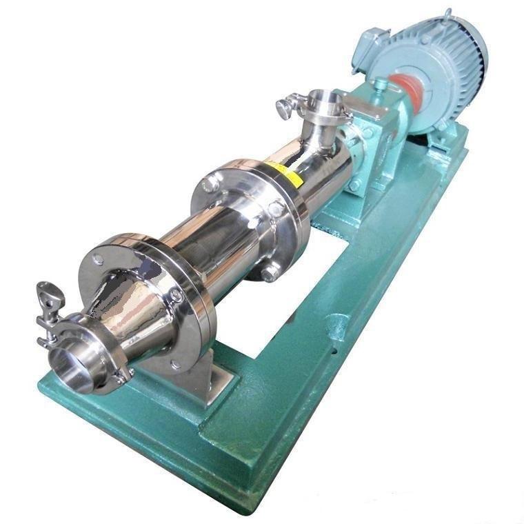 卫生级单螺杆泵结构工作原理