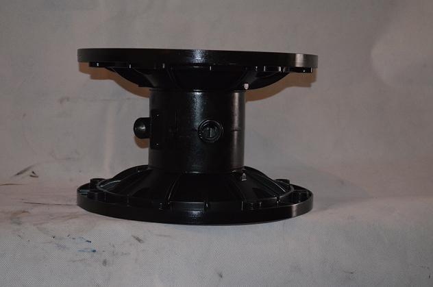 qby3配气阀内置气动隔膜泵结构示意图