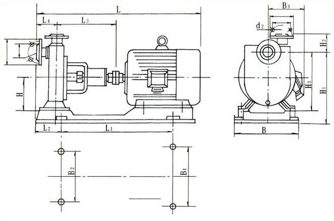 单相变频器接自吸泵接线图
