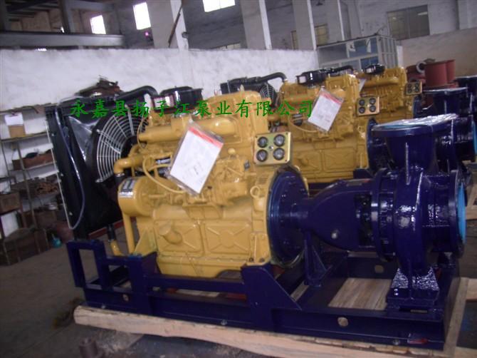 柴油水泵机组的底座采用重型钢结构焊接