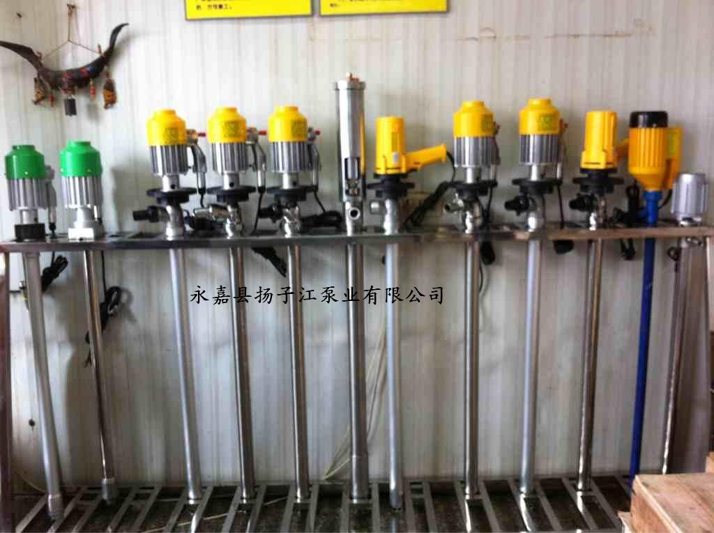 jk型手提式电动油桶泵使用方法