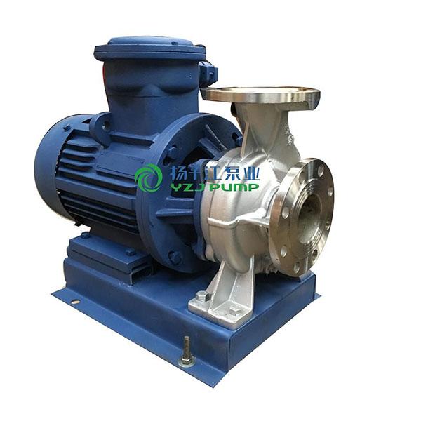 ISW型防爆不锈钢卧式管道泵|不锈钢单级离心泵