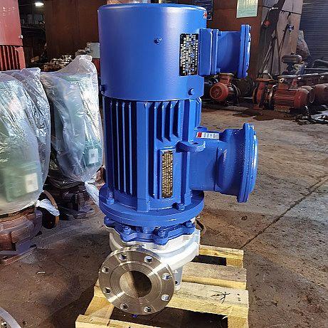 ISG型防爆立式管道泵