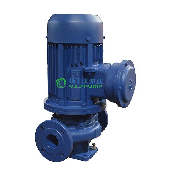 ISGB型防爆管道增压泵 立式管道热水泵 热水管道增压泵