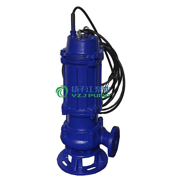 WQ型无堵塞潜水排污泵|无堵塞固定式潜水排污泵