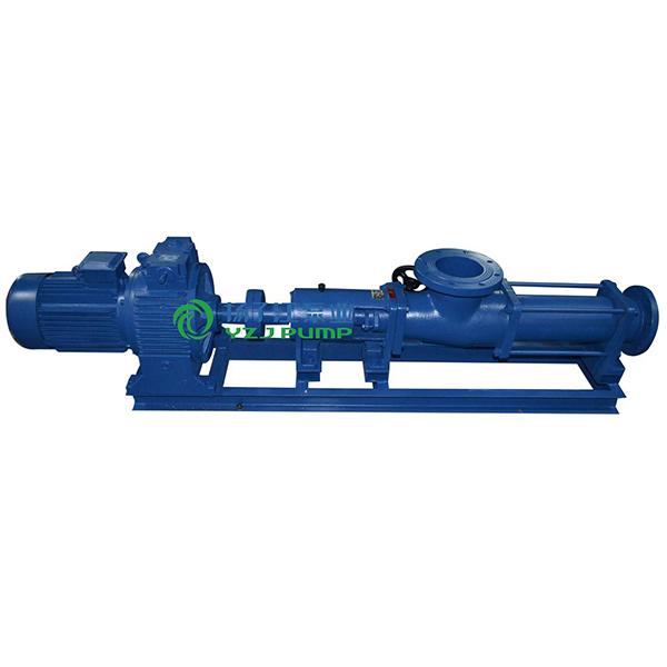 G型手轮调速无级变速单螺杆泵
