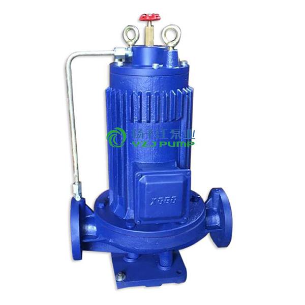G型屏蔽式管道泵