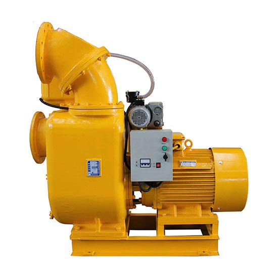 带真空辅助系统的强力自吸泵