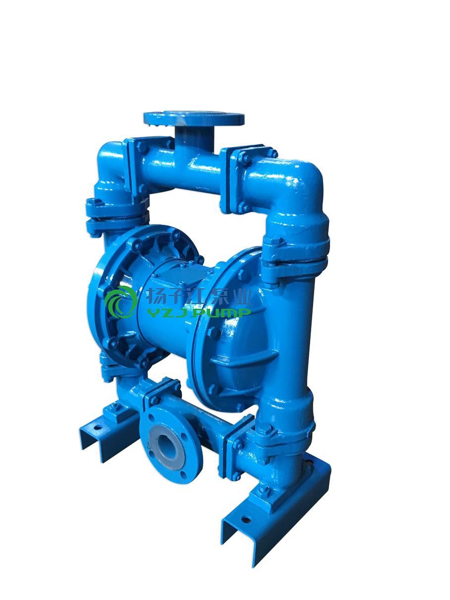 QBYC-F46衬氟气动隔膜泵 衬氟电动隔膜泵