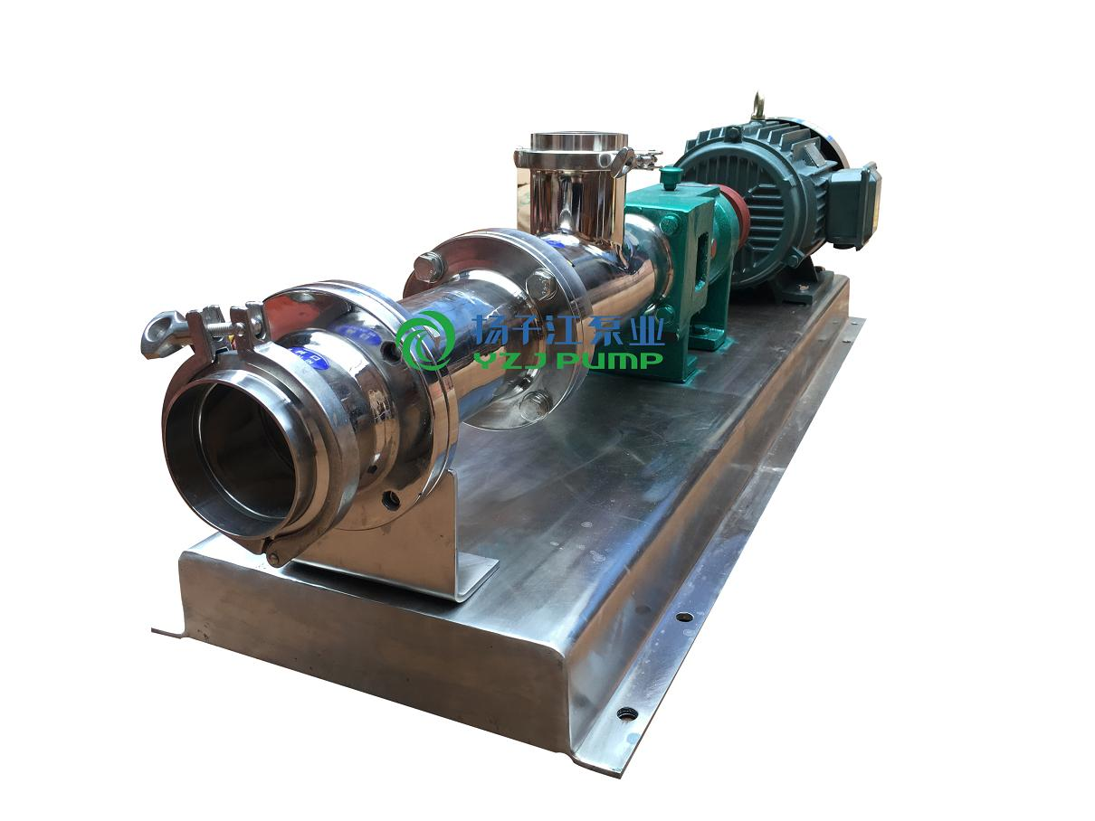 GF型raybet雷竞技下载地址卫生级单螺杆泵