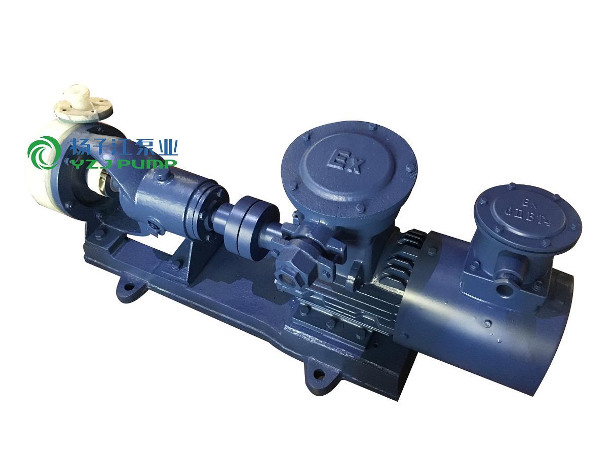 FSB防爆氟塑料耐腐蚀泵 耐强腐蚀泵 强酸碱泵