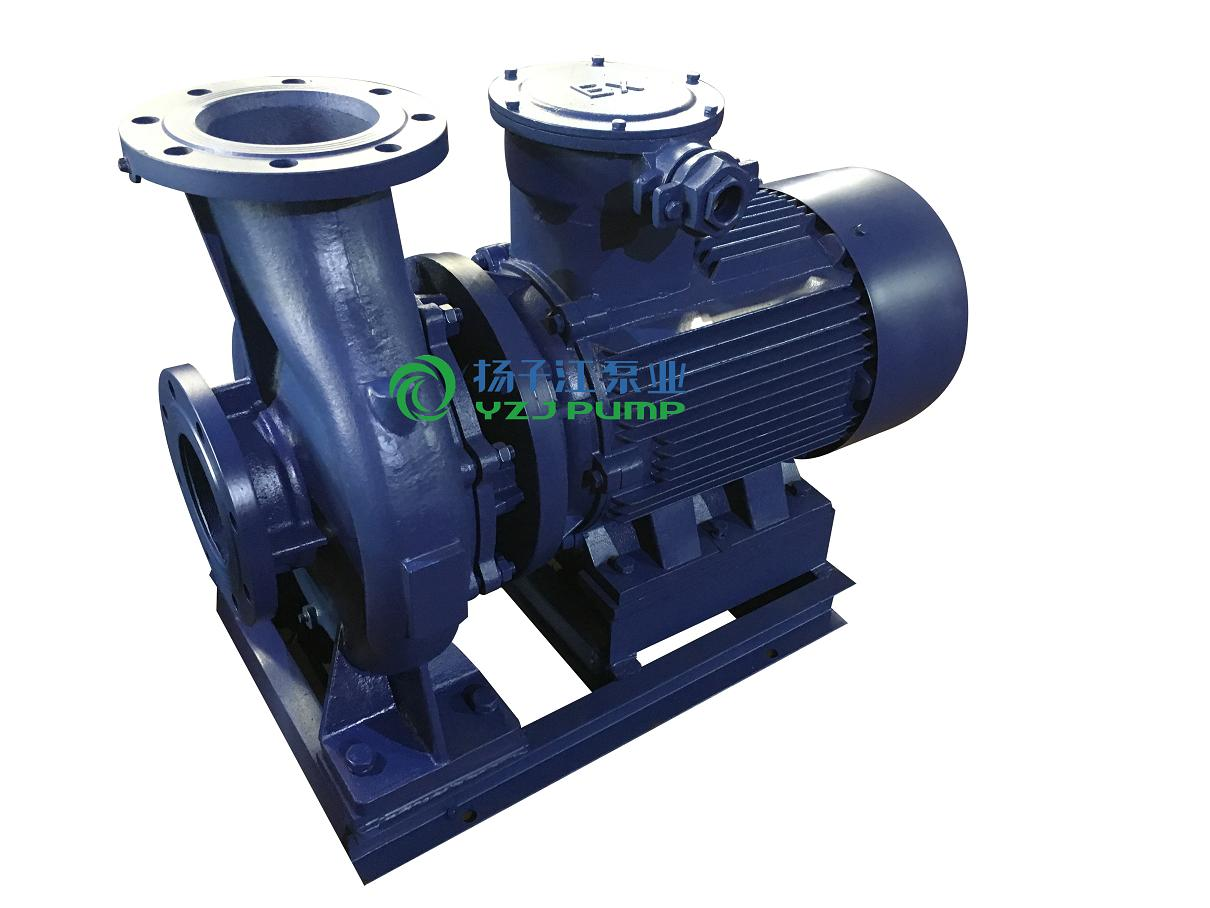 ISWB卧式单级单吸防爆油泵 卧式管道油泵
