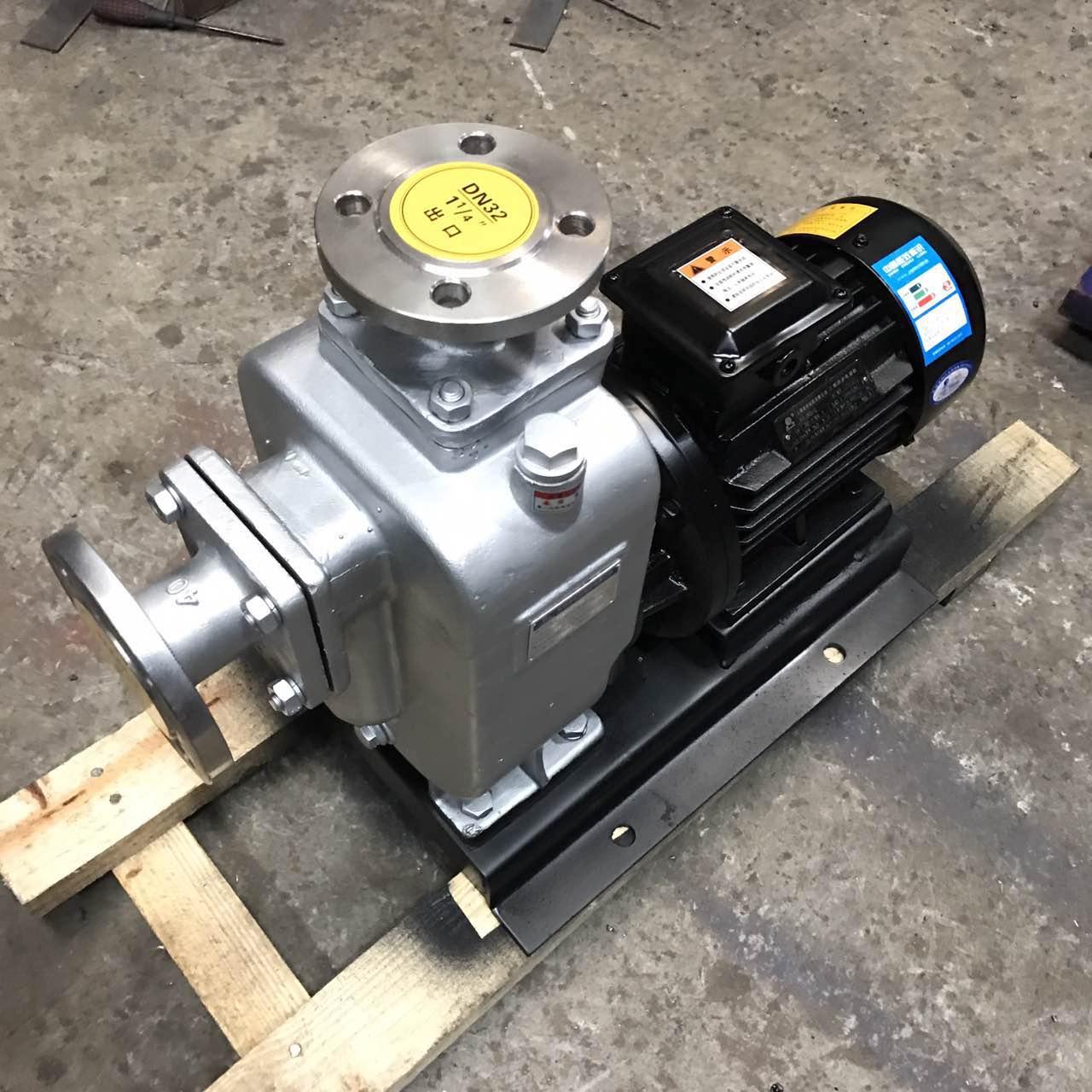 ZWL型直联自吸式无堵塞排污泵