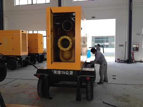 XBC型柴油机式自吸排污泵