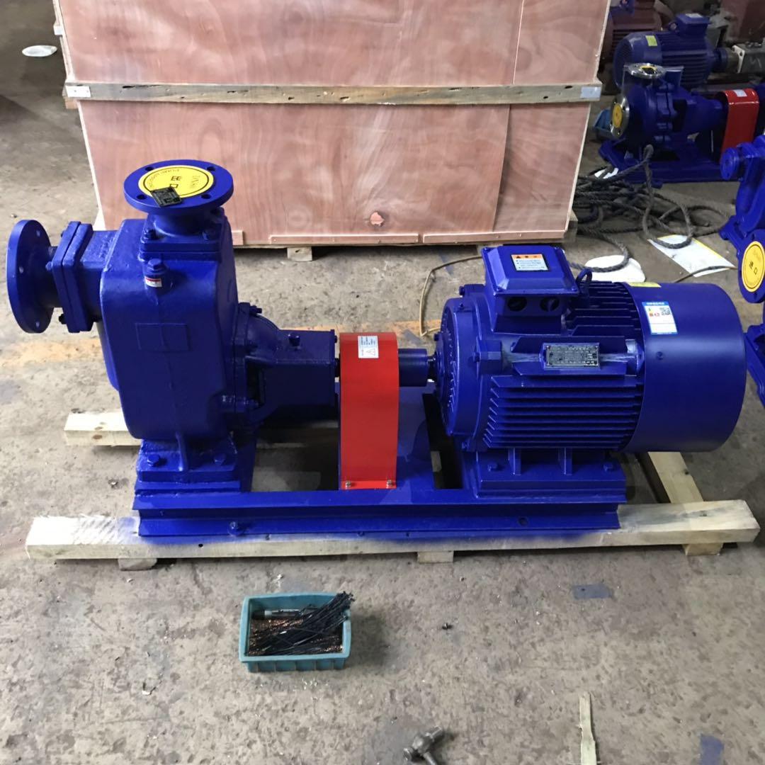 ZW型无堵塞自吸式污水泵