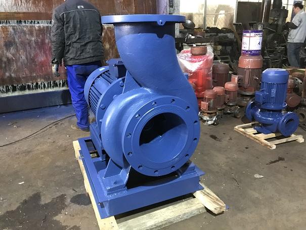 ISWR型卧式热水管道雷竞技官网手机版 卧式热水泵