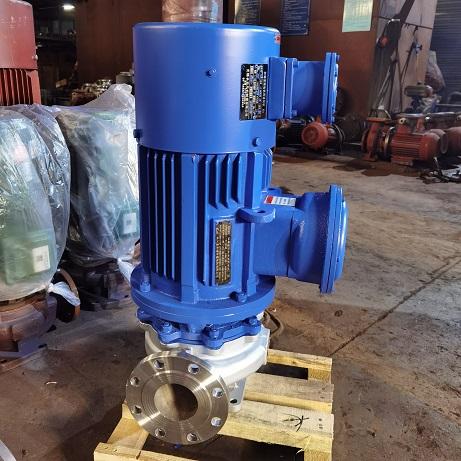 ISG型防爆变频立式管道泵